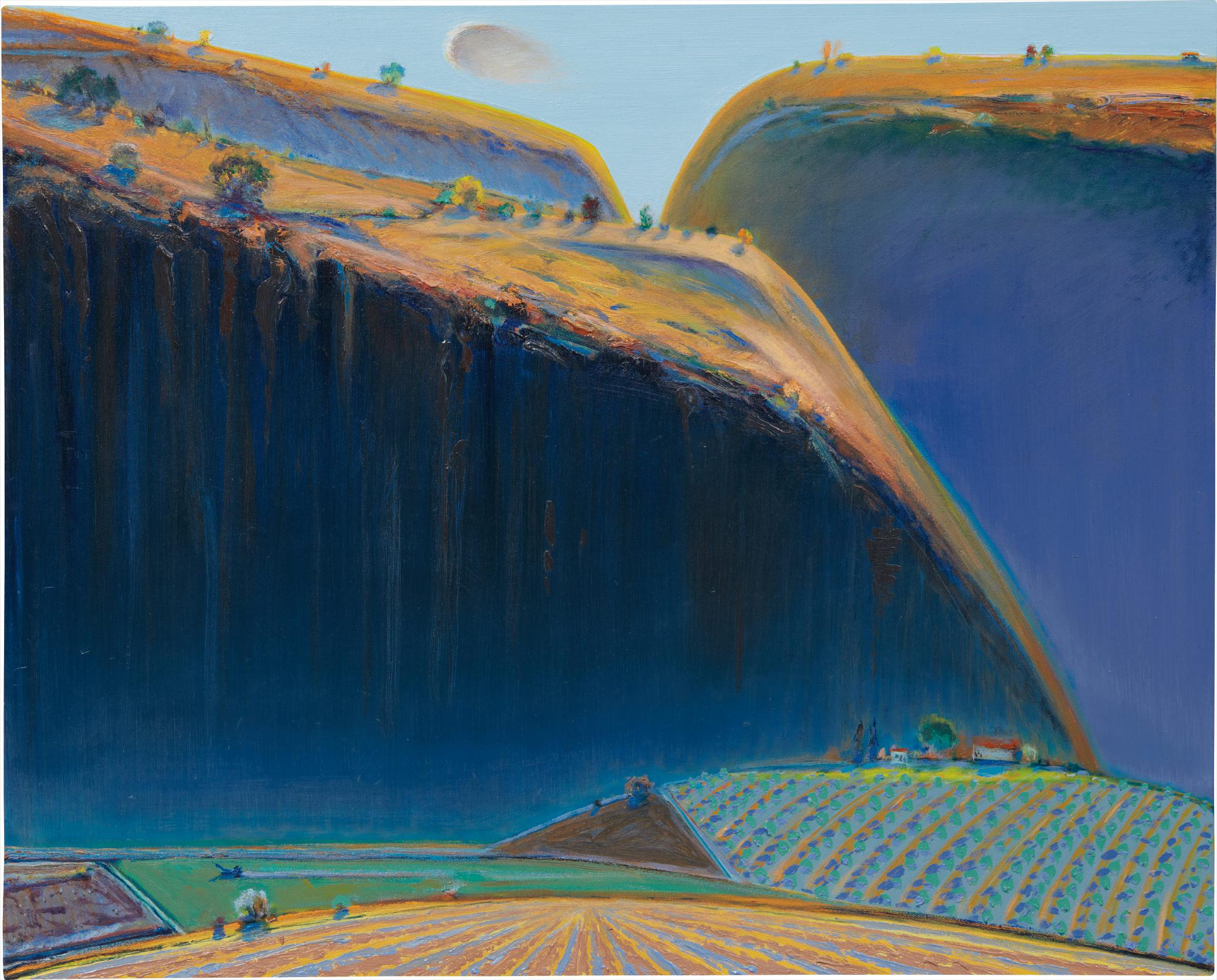 Wayne Thiebaud-Valley Ranch-2001