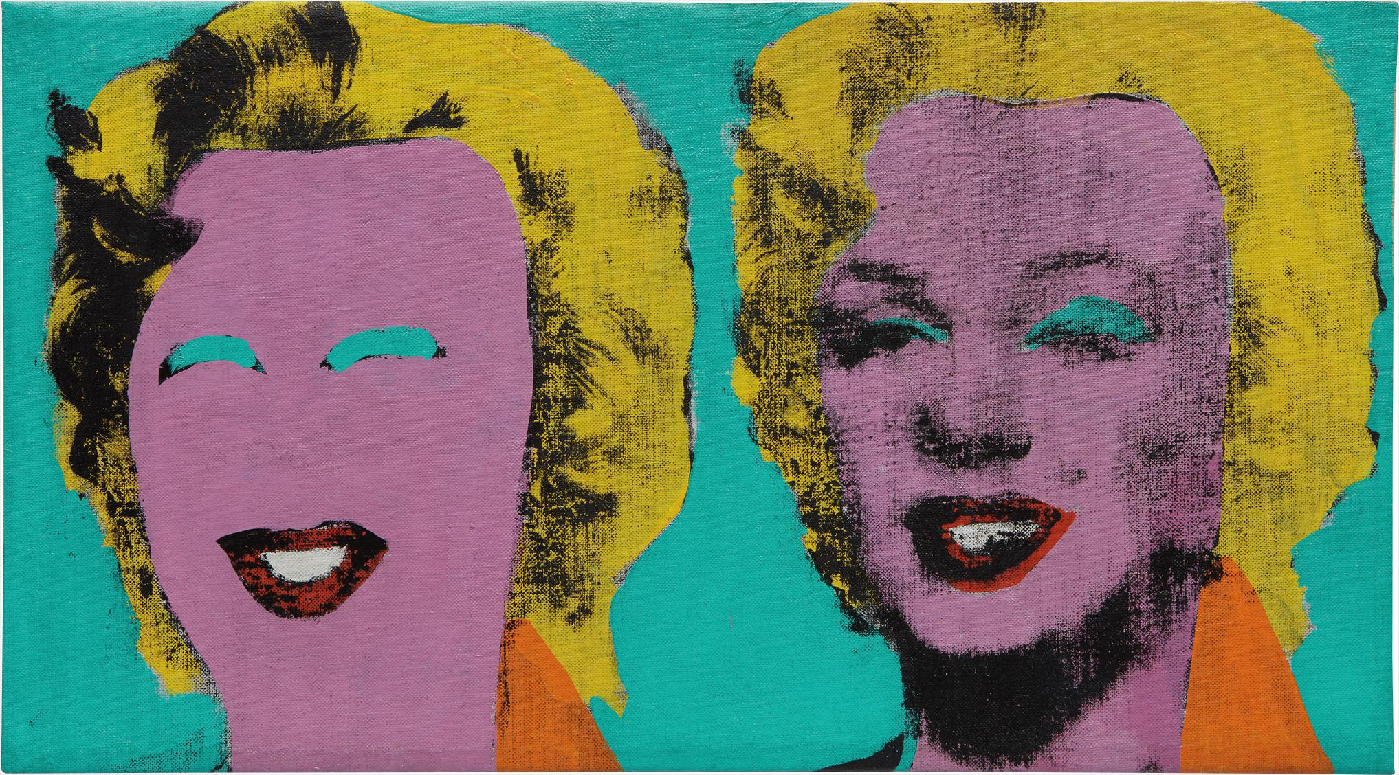 Andy Warhol-Two Marilyns-1962