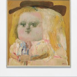 Fernando Botero-Yellow Nina-1962