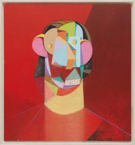 George Condo-Red Head-2012