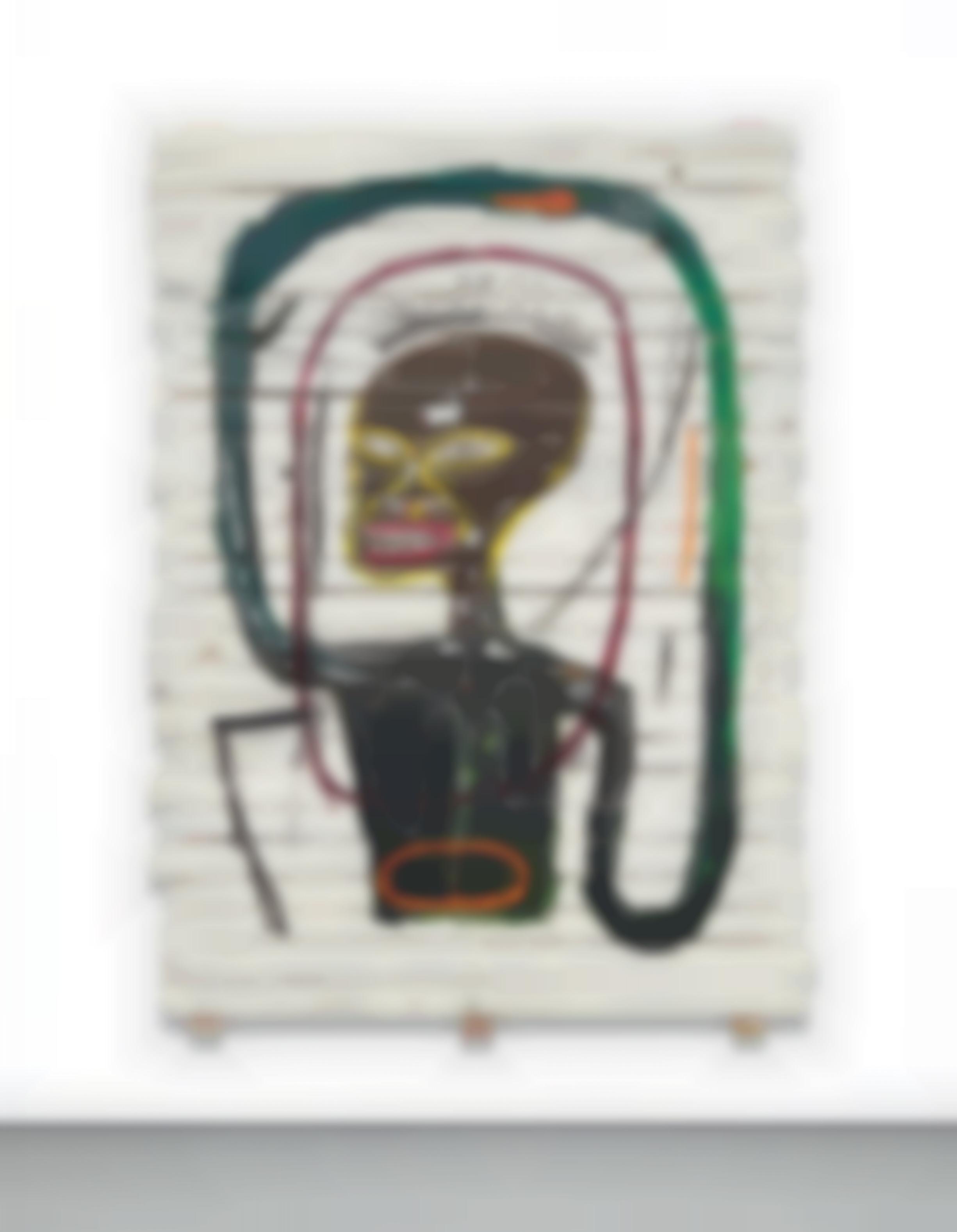 Jean-Michel Basquiat-Flexible-1984