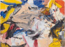 Willem de Kooning-Untitled 13-1977