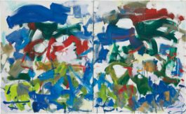 Joan Mitchell-Hours-1989