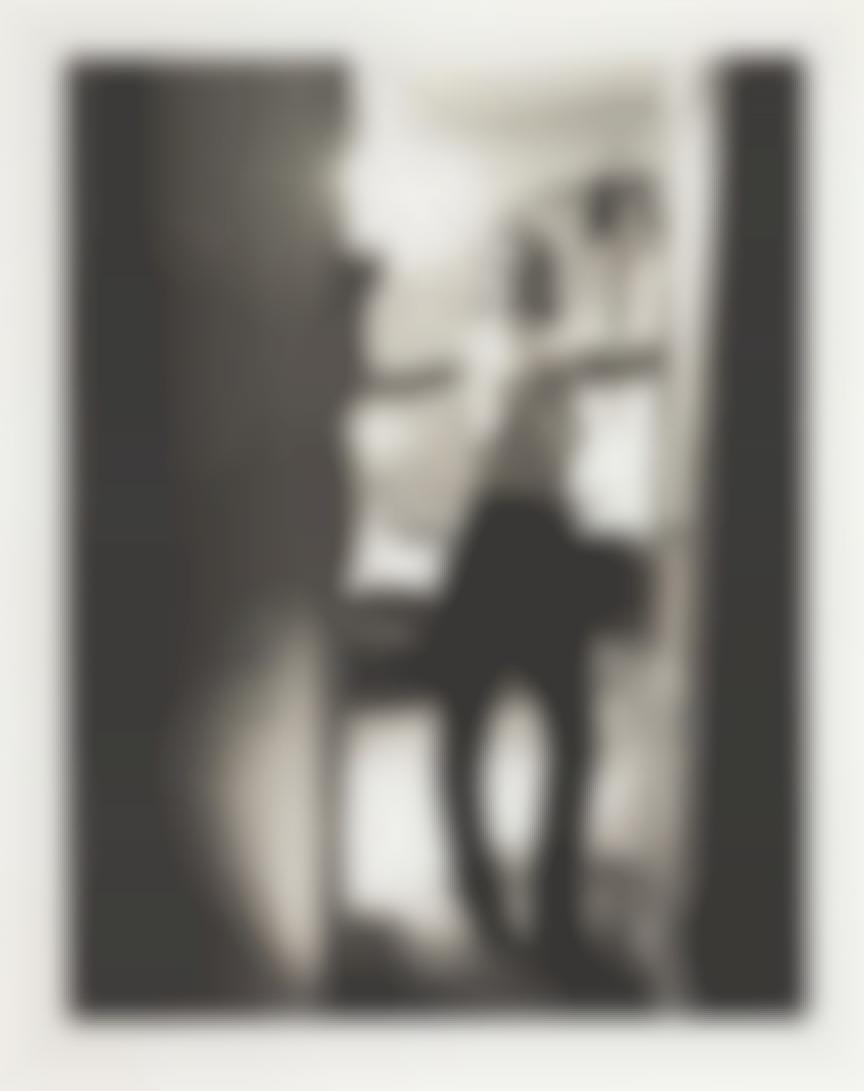 Helmut Newton-Gunilla Bergstrom In A Room In The Hotel Raphael, Paris-1977