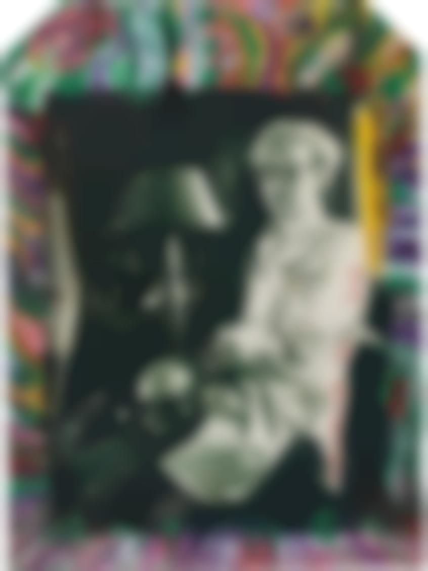 Peter Beard-Andy Warhol At Home In Montauk-1972