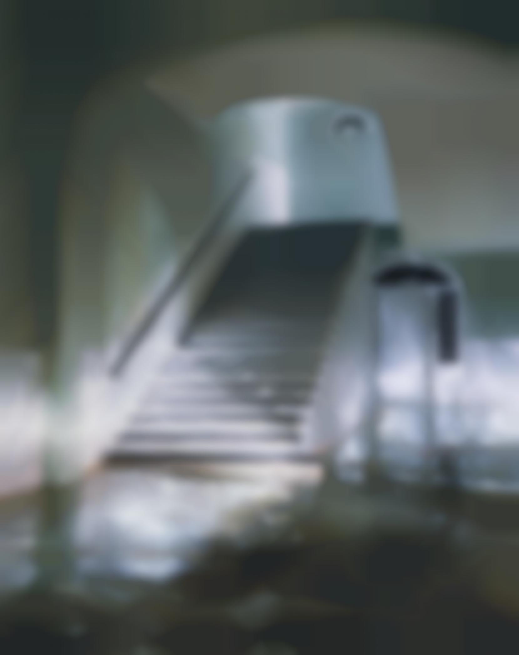 James Casebere-Green Staircase #1-2002