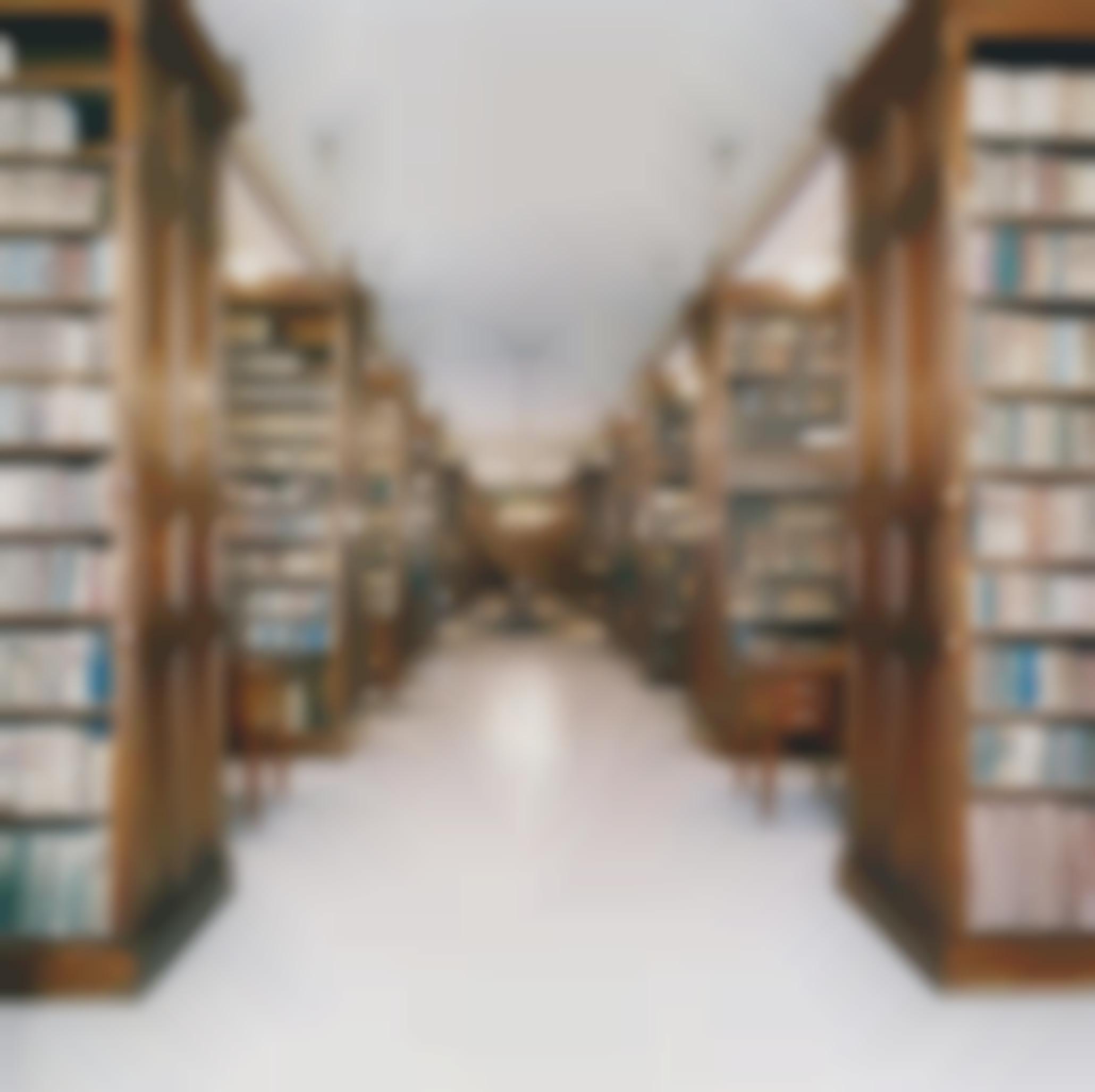 Candida Hofer-Biblioteca De La Real Academia De La Lengua Madrid I-2000