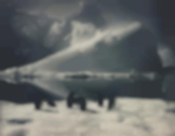 Herbert Ponting-Penguins And Iceberg, Antartica-1913