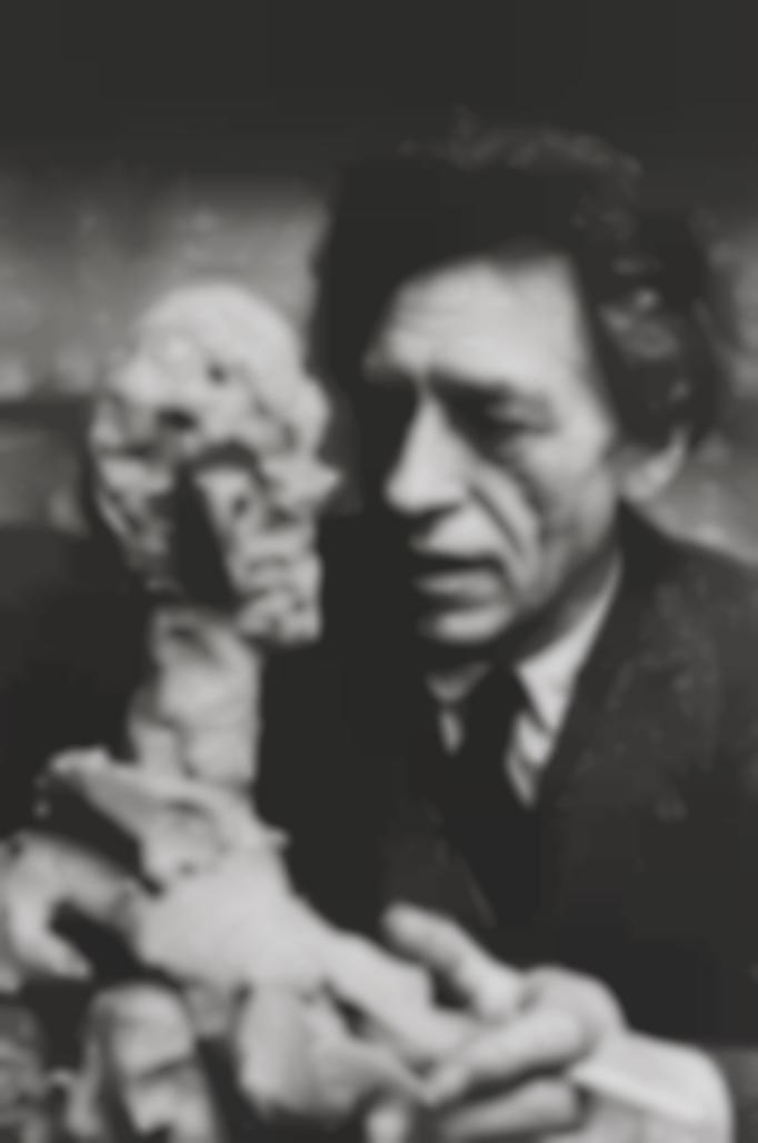 Henri Cartier-Bresson-Alberto Giacometti, Paris, France-1961