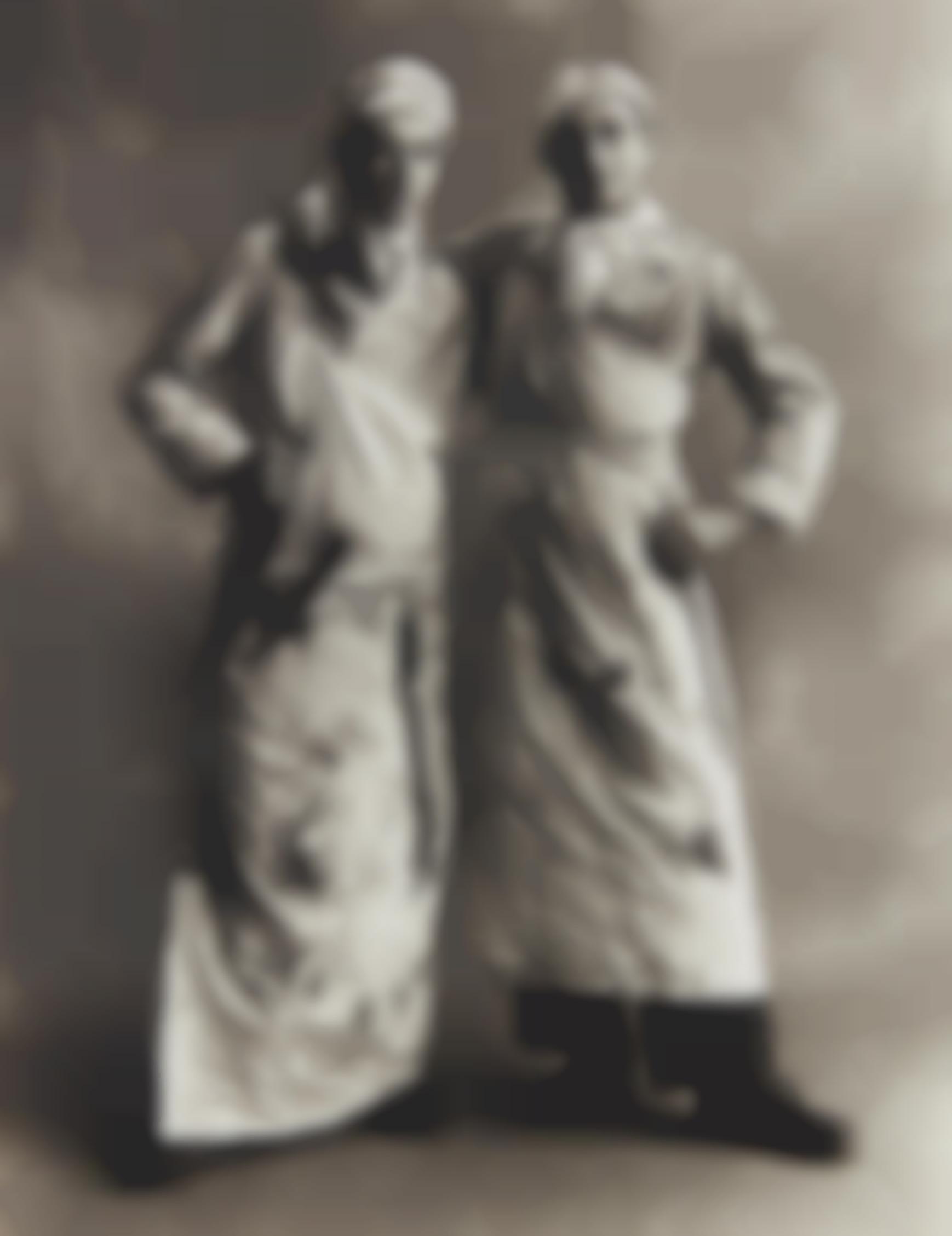 Irving Penn-Butchers, Paris-1950