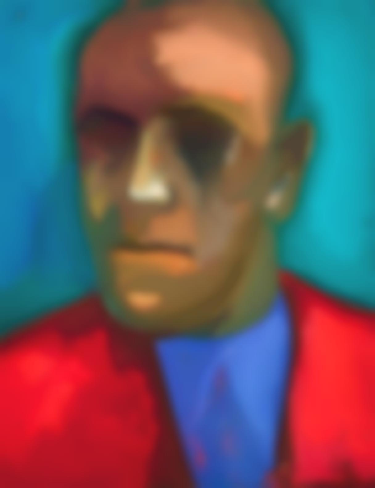 James Weeks-Portrait Of A Musician-1950