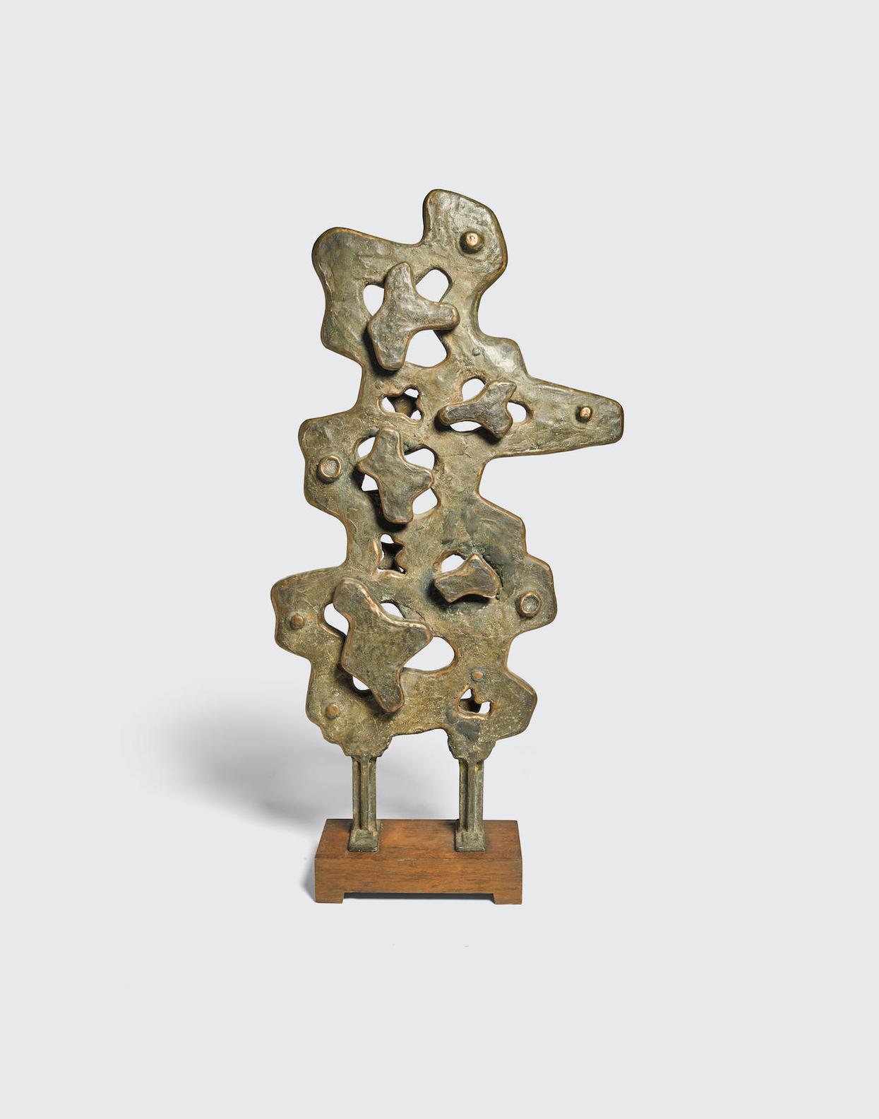 Jacques Schnier-Vertical Pierced Relief-1961