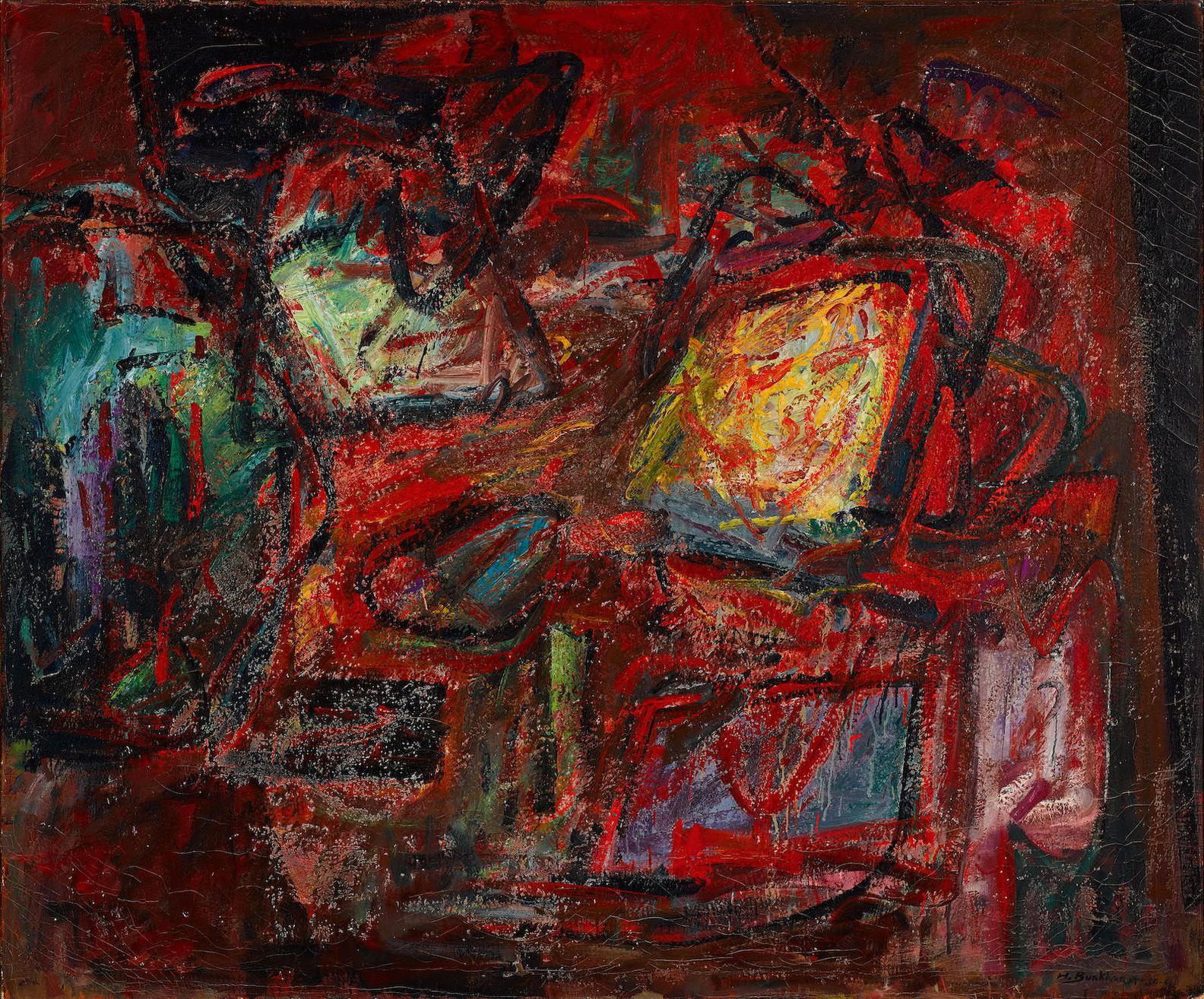 Hans Burkhardt-Turbulence-1960