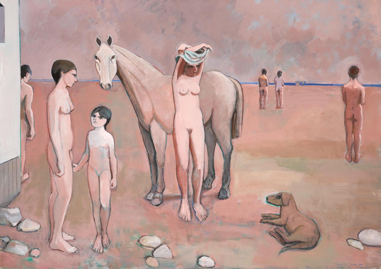 William Theophilus Brown-Untitled-1986