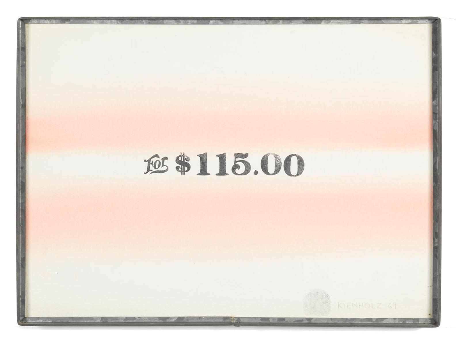 Edward Kienholz-For $115.00-1969