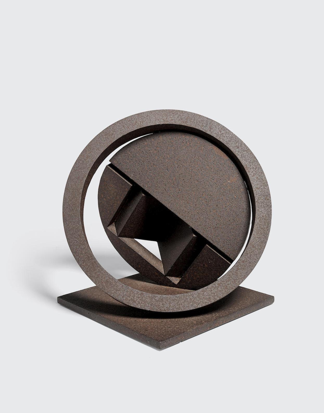 Fletcher Benton-Folded Circle Ring Zig-1999