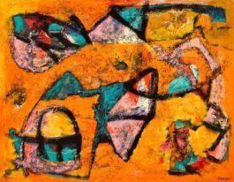 John Saccaro-Chrome Petal-1952