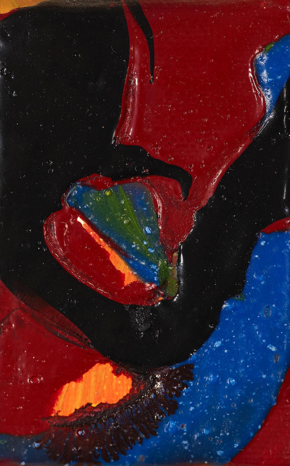Sam Francis-Orangel-1986
