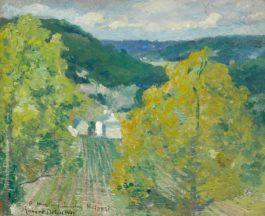 Robert Delaunay-Paysage De La Vallee De Senlis-1904