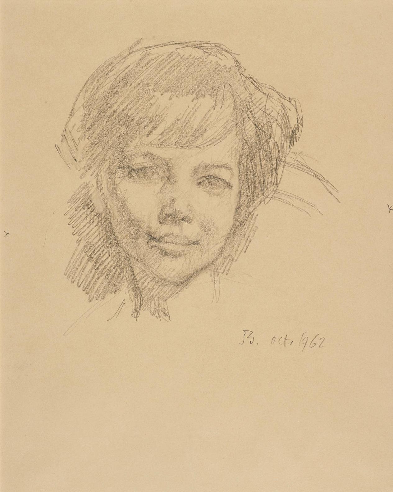 Balthus-Portrait Dalice-1962