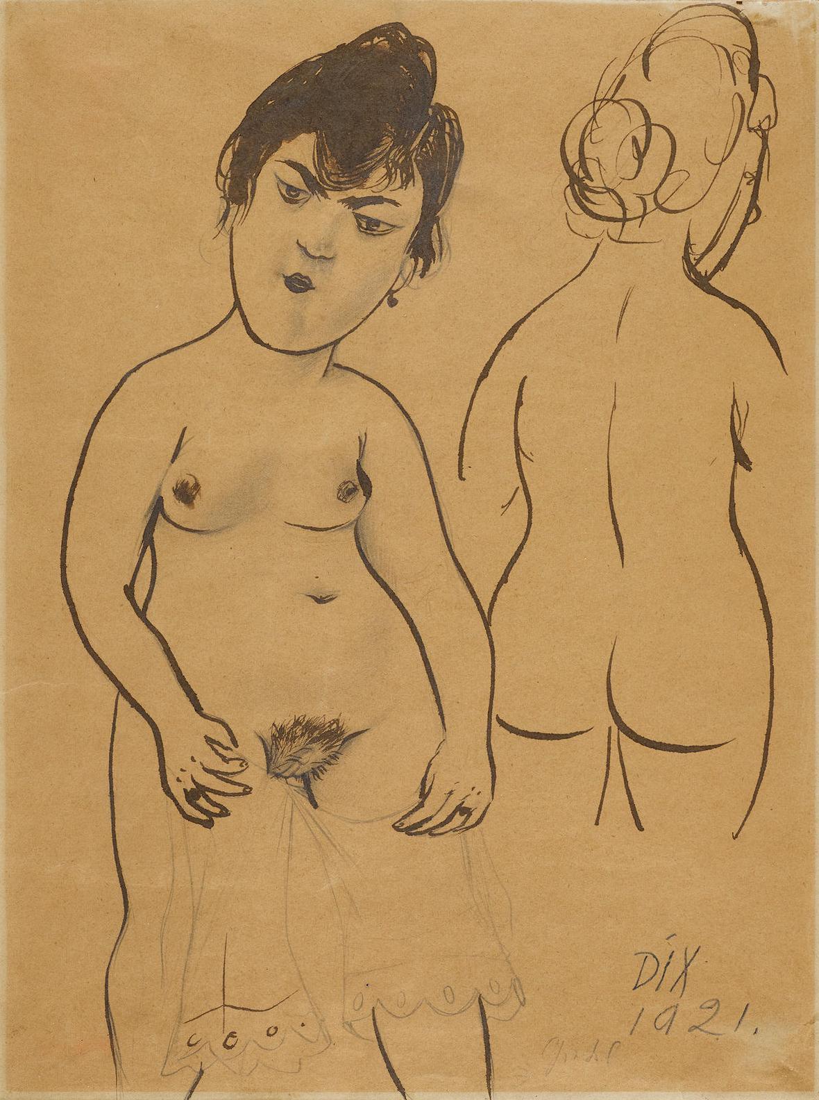 Otto Dix-Gretel-1921