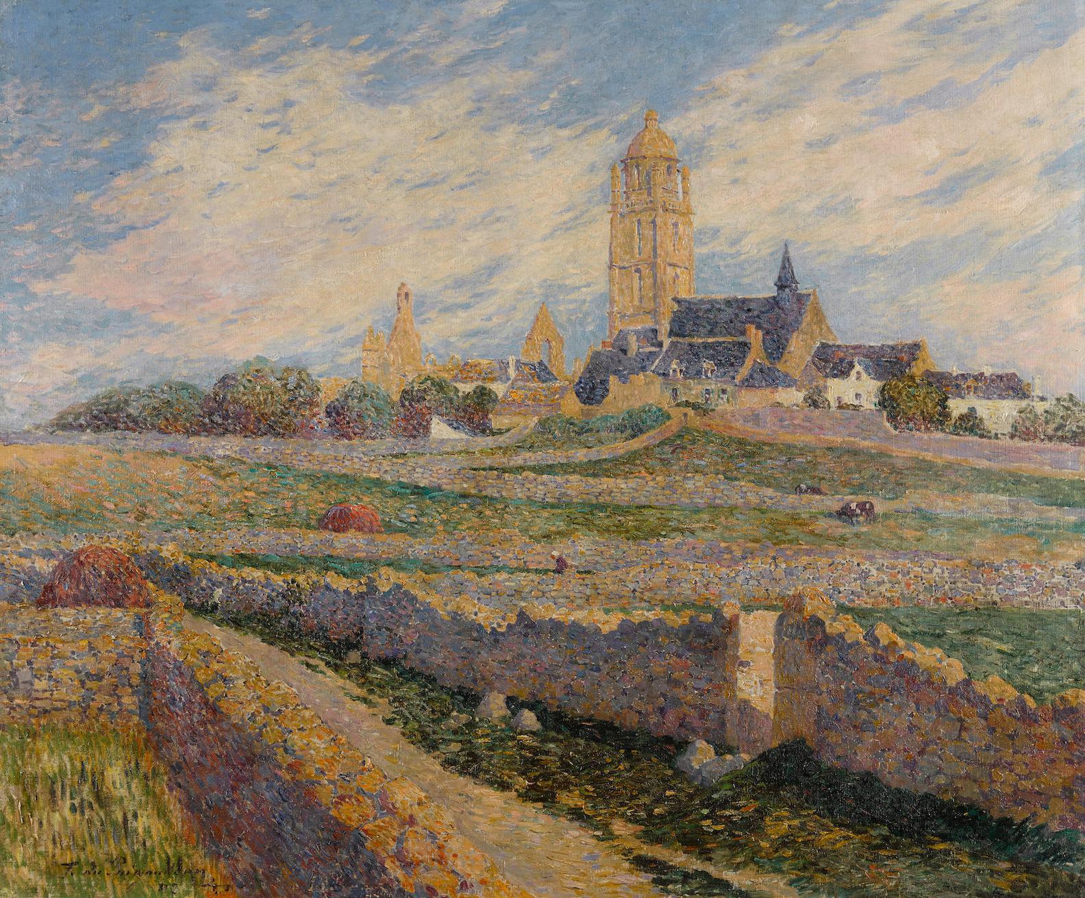 Ferdinand Du Puigaudeau-La Chapelle Des Muriers Et Leglise Du Bourg De Batz-