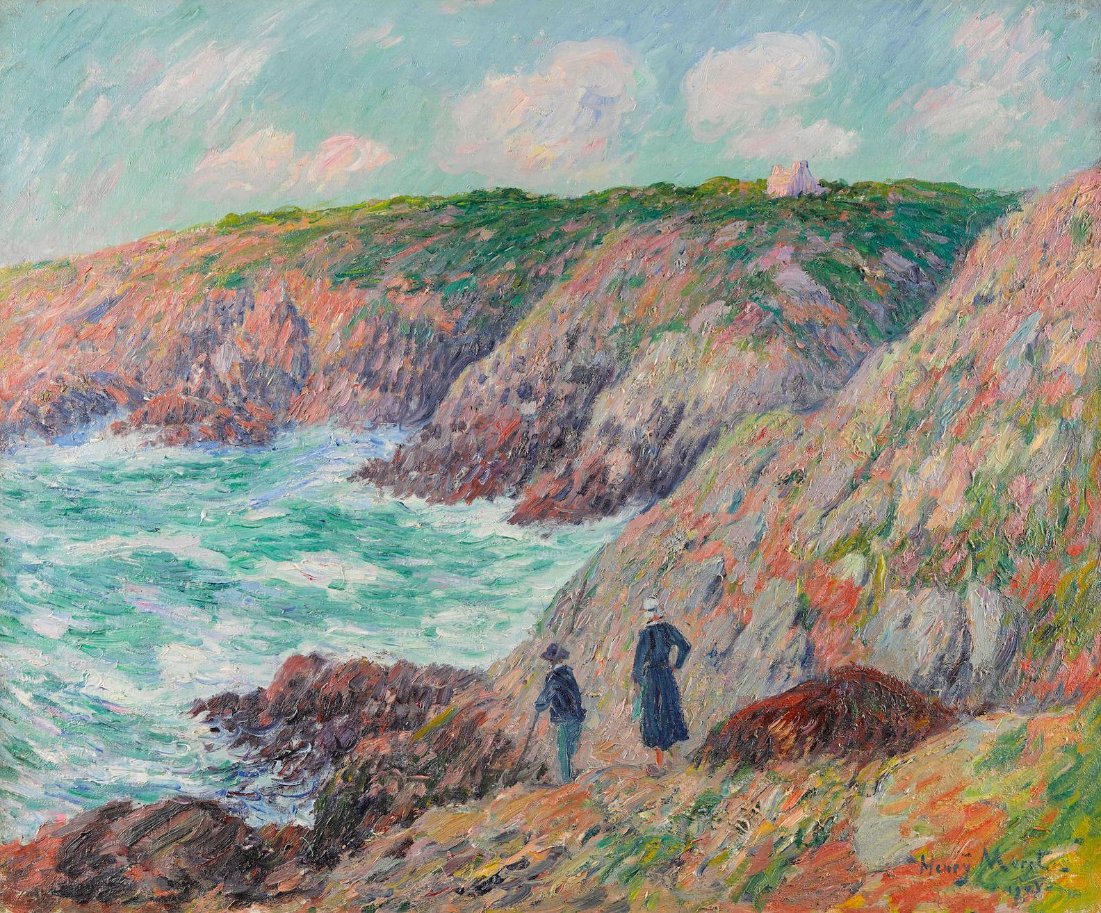 Henry Moret-Falaise De Moelan, Finistere-1901