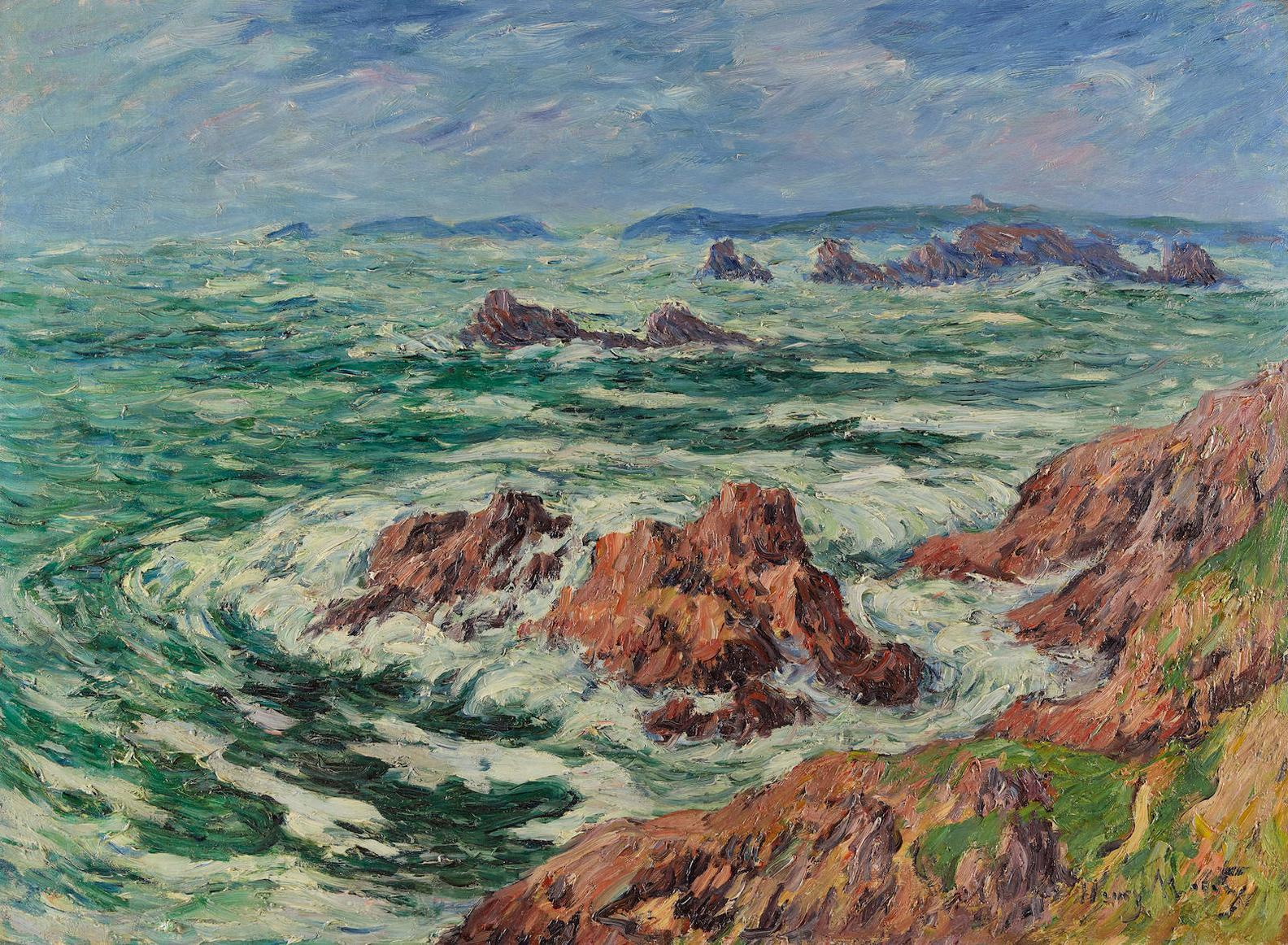 Henry Moret-Pointe Rocheuse, Finistere-1910