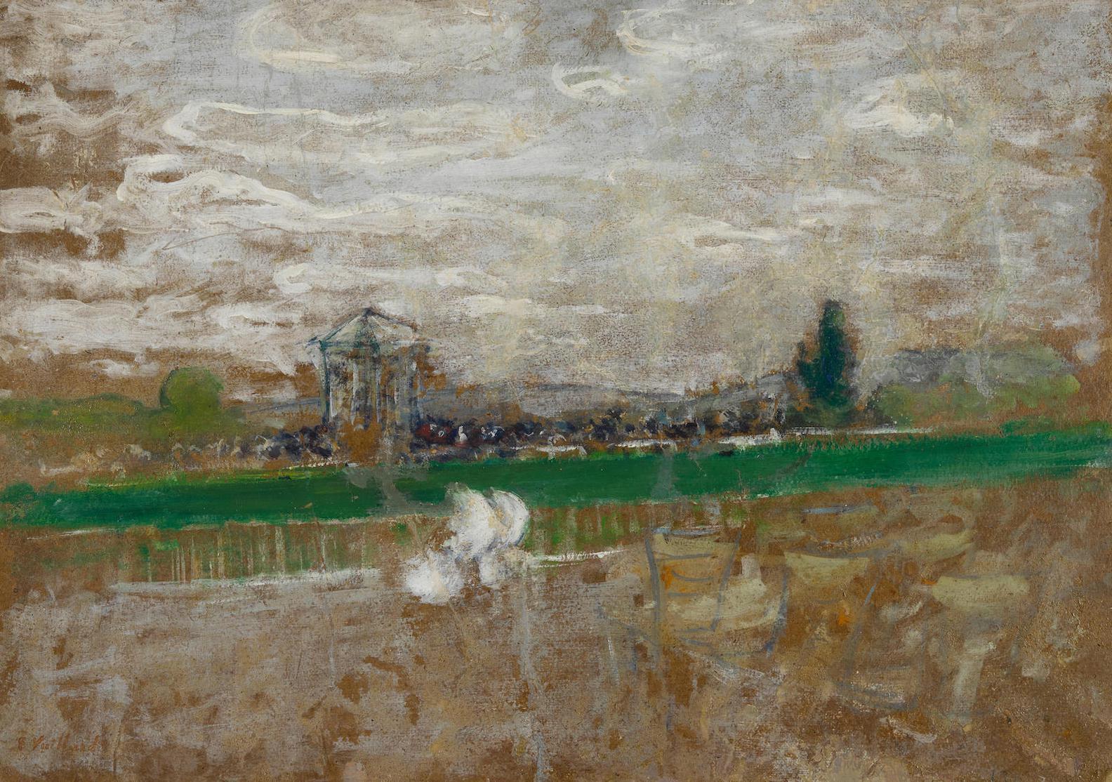 Edouard Vuillard-Champ De Course-1899