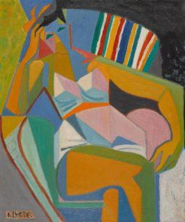 Andre Lhote-Apres Le Bain-1957
