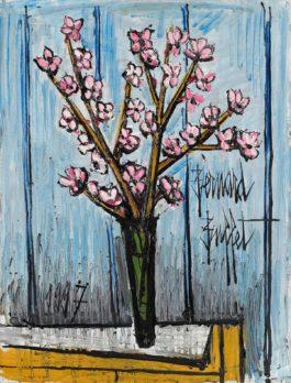 Bernard Buffet-Branches De Cerisiers En Fleurs-1997