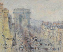 Gustave Loiseau-Lavenue De Friedland, Paris-1925