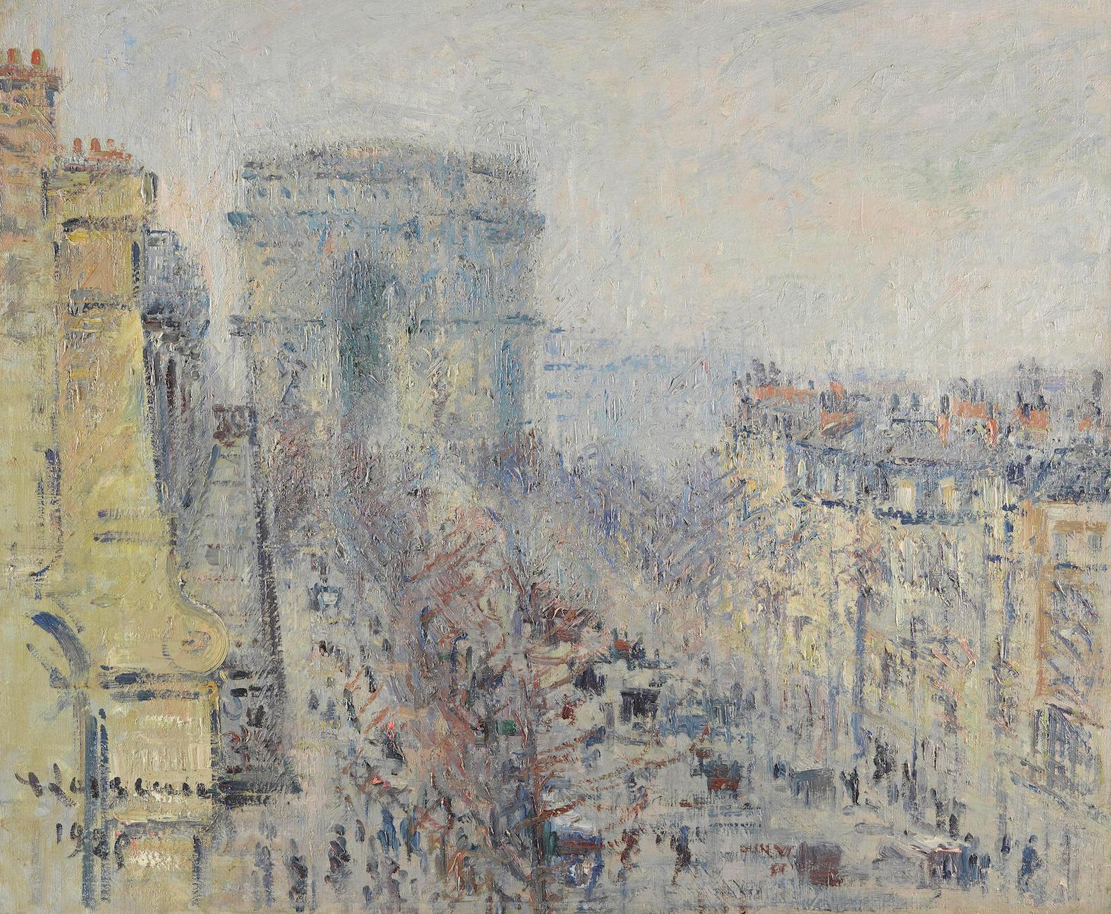 Gustave Loiseau-Lavenue De Friedland, Paris-1925