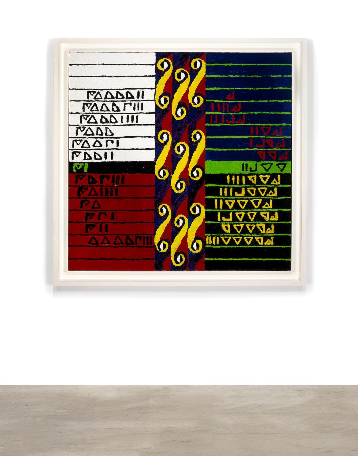 Alfred Jensen-Doric Order-1962