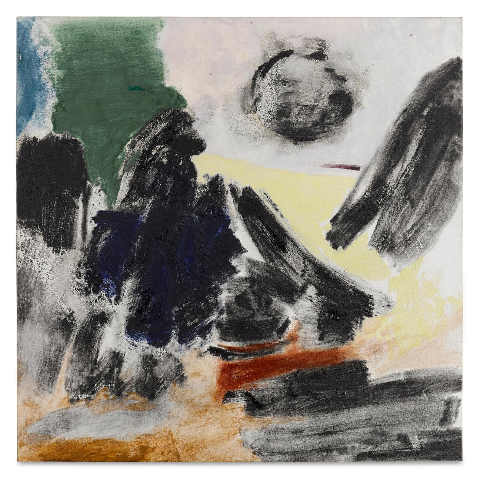 Friedel Dzubas-Omen-1988