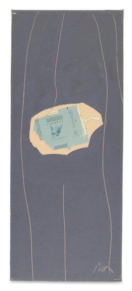 Robert Motherwell-Gauloises On Grey #29-1972