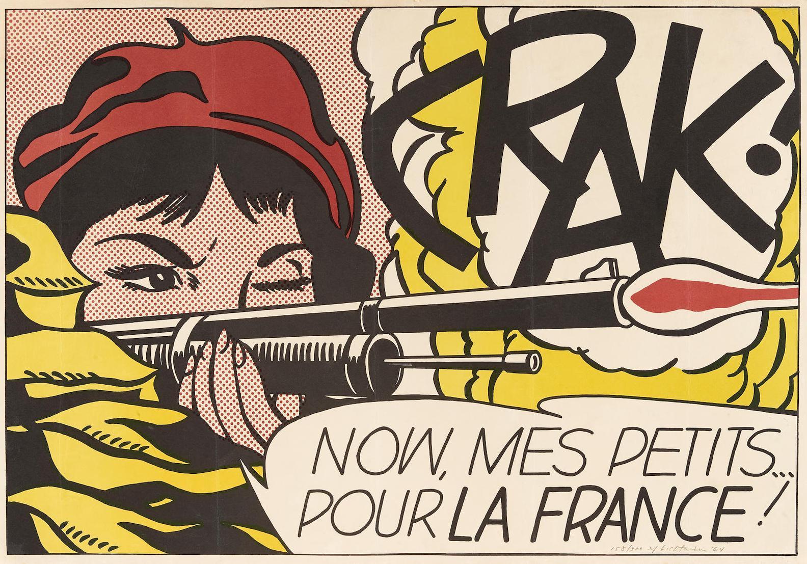 Roy Lichtenstein-Crak! (C. II.2)-1964