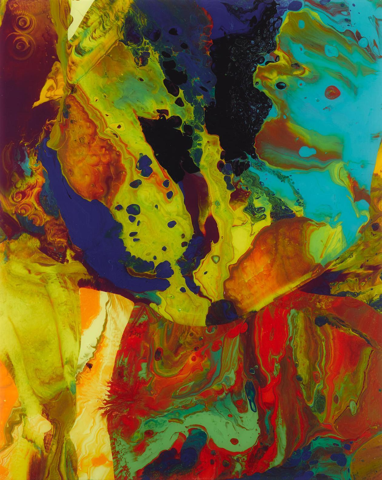 Gerhard Richter-Bagdad (P9)-2014