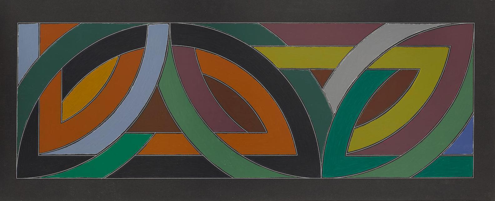 Frank Stella-York Factory II (A.94; G. 567)-1974