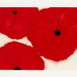 Donald Sultan-Four Reds, Sept 30, 2002-1992