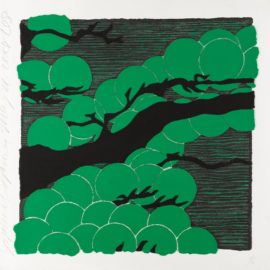 Donald Sultan-Japanese Pines-2008