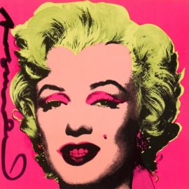 Andy Warhol-Marilyn (Invitation) (Not In F./S.)-1981