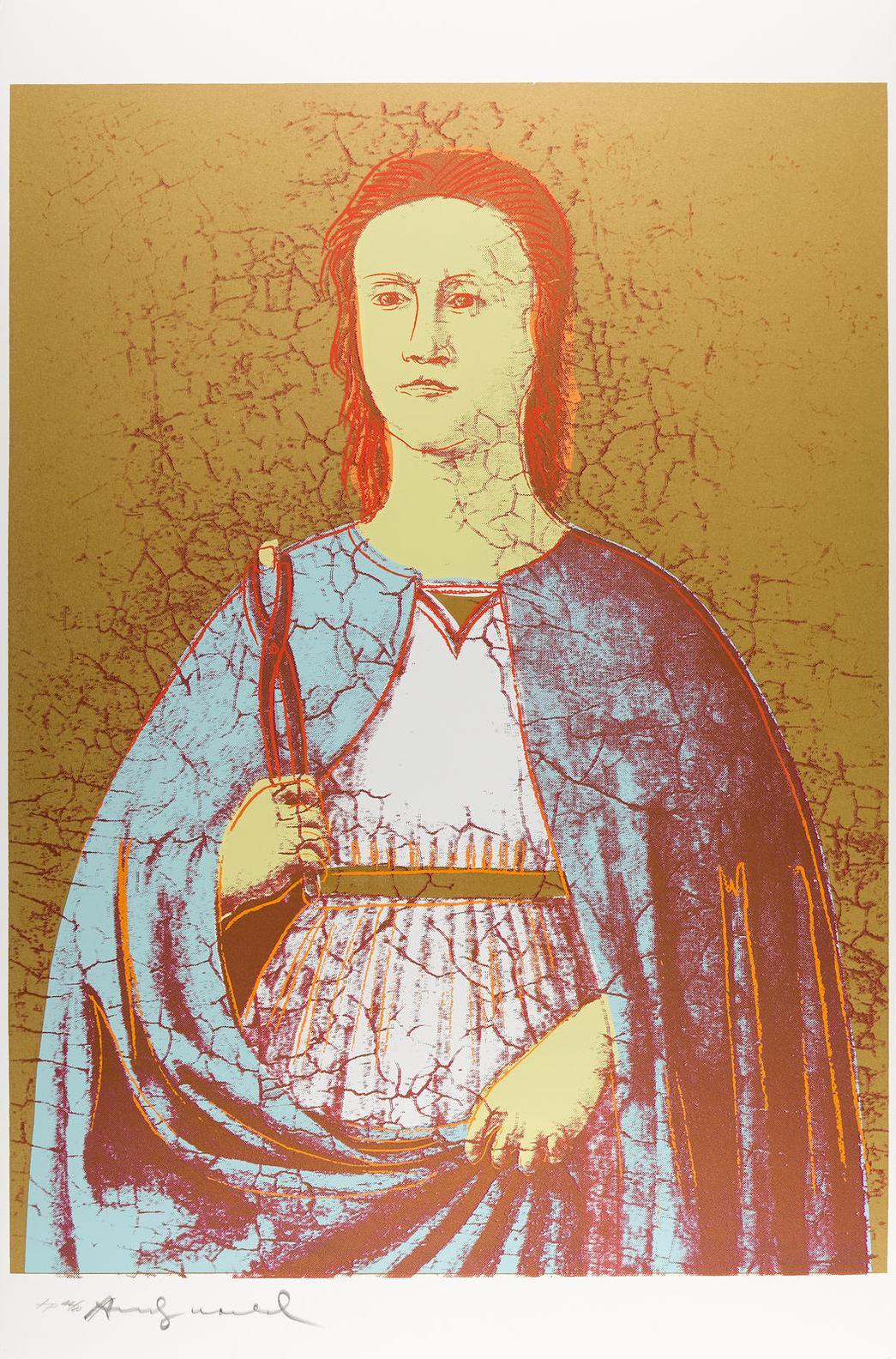 Andy Warhol-Saint Apollonia (F. & S. II.330-333)-1984