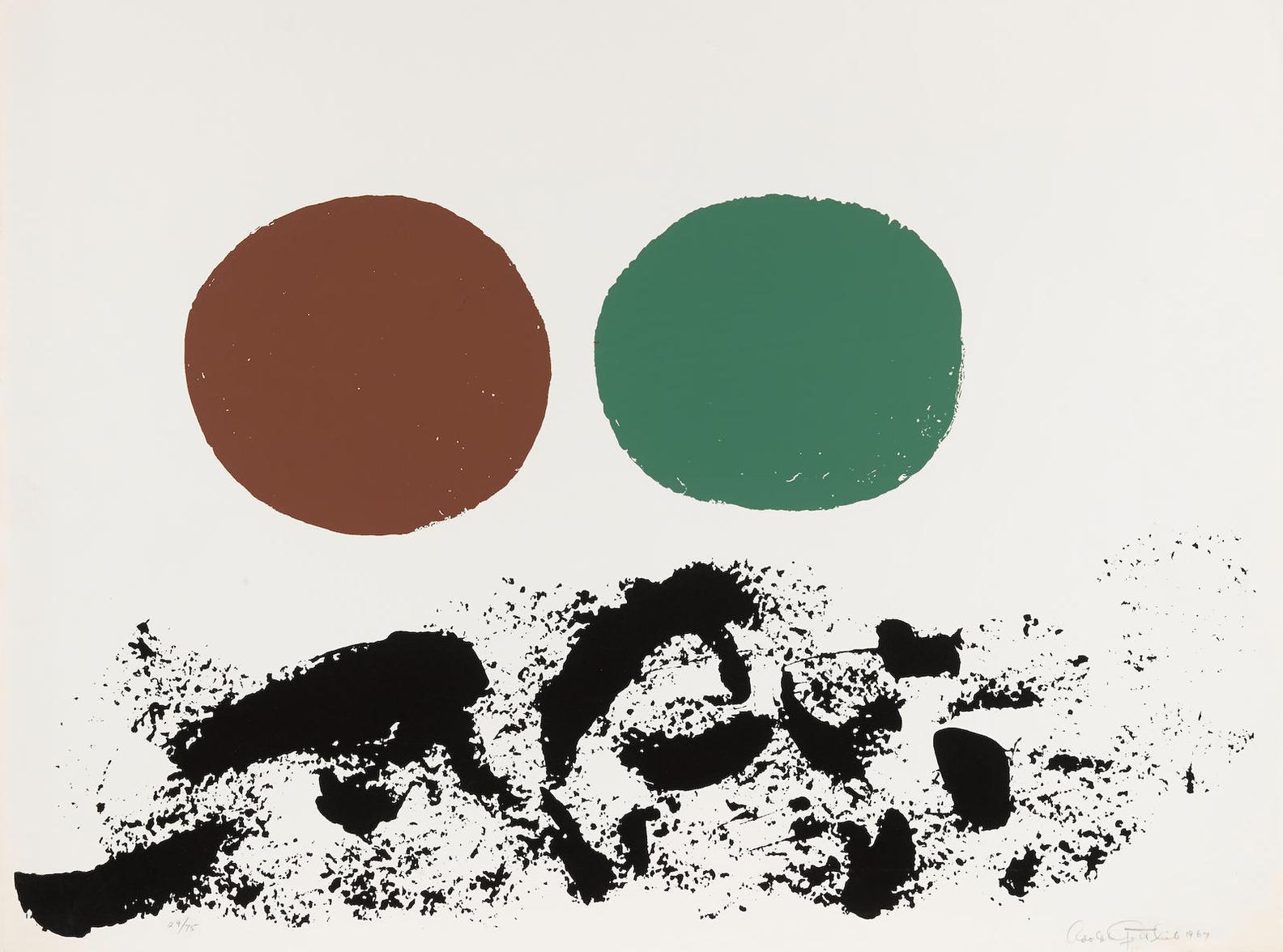 Adolph Gottlieb-Flurry-1967
