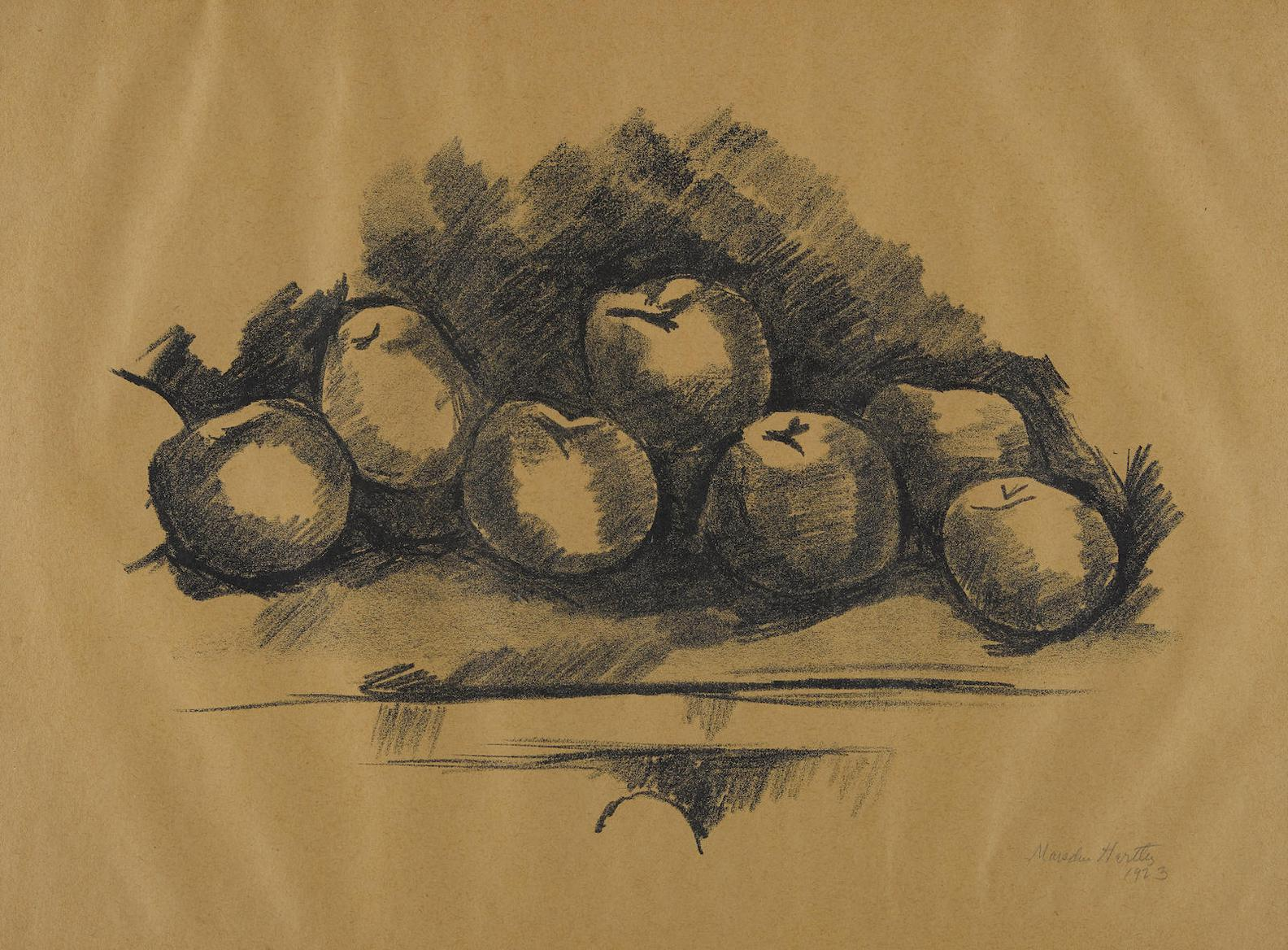 Marsden Hartley - Apples On A Table-1923