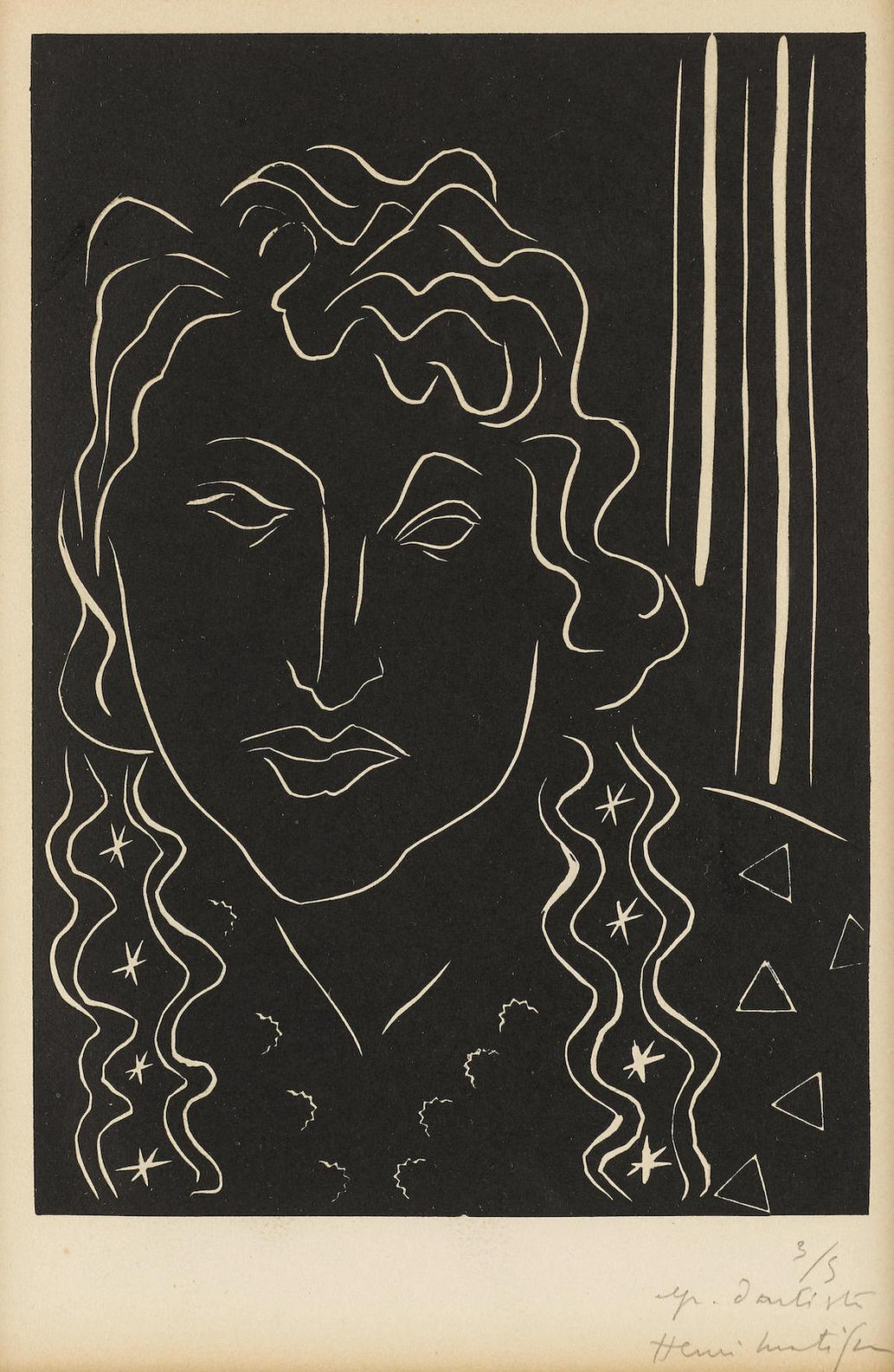 Henri Matisse-La Belle Tahitienne (D. 717)-1938