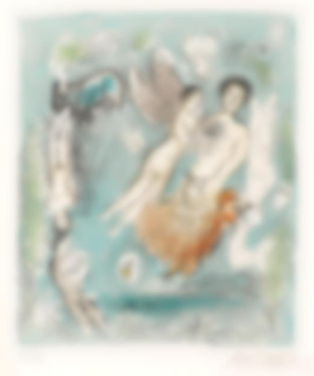 Marc Chagall-Lile De Poros (M. 963)-1980