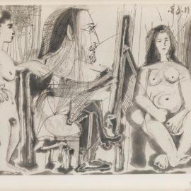 Pablo Picasso-Dans Latelier (B. 1138; Ba. 1135)-1963