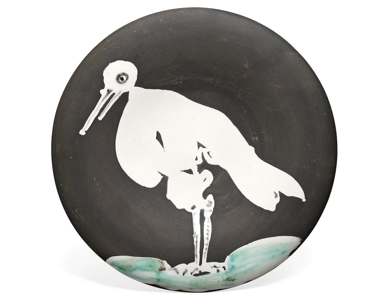 Pablo Picasso-Oiseau No.83 (R. 483)-1963