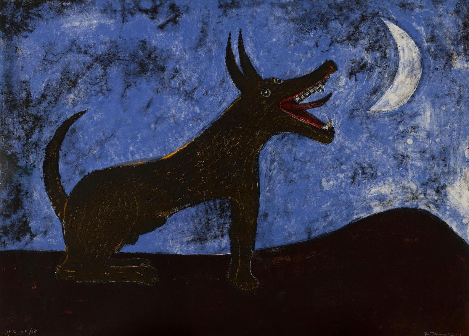 Rufino Tamayo-Perro De Luna (Moon Dog), From The Mexican Masters Suite (P. 135)-1973